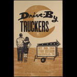 Hatch Show Print Drive By Truckers at Ryman Auditorium Poster