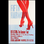 Hatch Show Print Fifth Harmony Reflection Summer Tour Poster