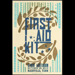 Hatch Show Print First Aid Kit at Ryman Auditorium Poster