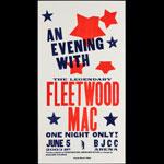 Hatch Show Print Fleetwood Mac at BJCC Arena Poster