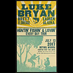 Hatch Show Print Luke Bryan Poster