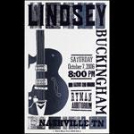 Hatch Show Print Lindsey Buckingham at Ryman Auditorium Poster