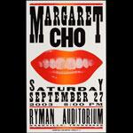 Hatch Show Print Margaret Cho at Ryman Auditorium Poster
