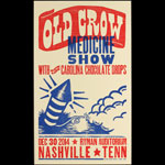 Hatch Show Print Old Crow Medicine Show at Ryman Auditorium Poster