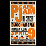 Hatch Show Print Pearl Jam Poster
