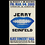 Hatch Show Print Jerry Seinfeld Poster