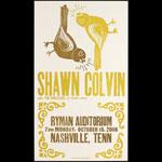 Hatch Show Print Shawn Colvin - The Wreckers - Brandi Carlile at Ryman Auditorium Poster