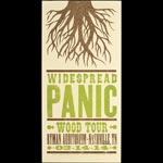 Hatch Show Print Widespread Panic at Ryman Auditorium Poster