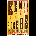 Hatch Show Print Kenny Rogers Poster