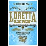 Hatch Show Print Loretta Lynn Poster