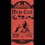 Hatch Show Print Meat Loaf Poster