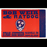Hatch Show Print Bob Weir and RatDog Poster