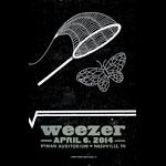 Hatch Show Print Weezer Poster