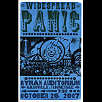 Hatch Show Print Widespread Panic Poster