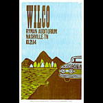 Hatch Show Print Wilco Poster