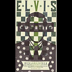 Hatch Show Print Elvis Costello Poster
