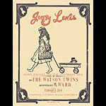 Hatch Show Print Jenny Lewis Poster