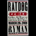 Hatch Show Print Ratdog Poster