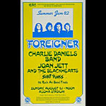 Summer Jam 82 Foreigner in Hawaii Poster