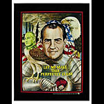 Rare Vintage Richard Nixon Anti-war Vietnam Proof Sheet