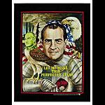 Rare Vintage Richard Nixon Anti-war Vietnam Poster