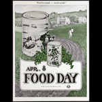 David Singer Food Day - Tea Lautrec Poster