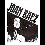 Late 1960's Joan Baez Headshop Poster