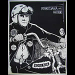 Richard Nixon On His Hog! - Dickie Bird Poster