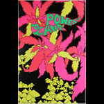The Golden Dawn : Power Plant - Pot Leaves And Mushrooms Blacklight  Poster