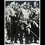 Cops At 1968 Democratic Convention Chicago Seven Poster