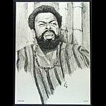 Le Roi Jones (Amiri Baraka) Black Movement Leader Poster