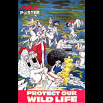 Don Martin 1974 Mad Magazine Protect Our Wildlife Poster