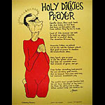 Holy Dickie's Prayer Anti-war Poster