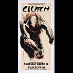 Derek Hess Clutch Poster