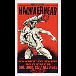 Derek Hess Hammerhead Poster