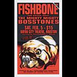 Derek Hess Fishbone Poster