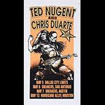 Derek Hess Ted Nugent Poster