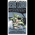 Derek Hess The Jesus Lizard Poster