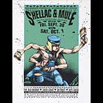 Derek Hess Shellac  Poster