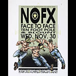 Derek Hess NOFX Poster