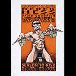 Derek Hess Art Show Poster