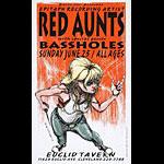 Derek Hess Red Aunts Poster