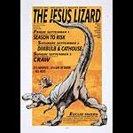 Derek Hess Jesus Lizard Poster
