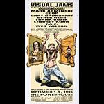 Derek Hess Visual Jams Poster