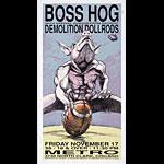Derek Hess Boss Hog Poster