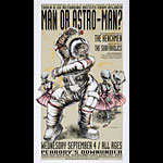 Derek Hess Man Or Astroman? Poster