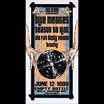 Derek Hess Thick Records Showcase / Blue Meanies Poster