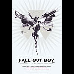 Derek Hess Fall Out Boy Poster