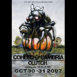 Derek Hess Coheed and Cambria Poster