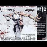 Derek Hess Godsmack Poster